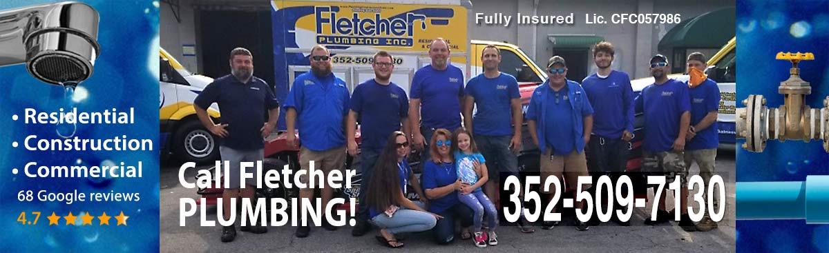 Fletcher Plumbing Ocala Gainesville